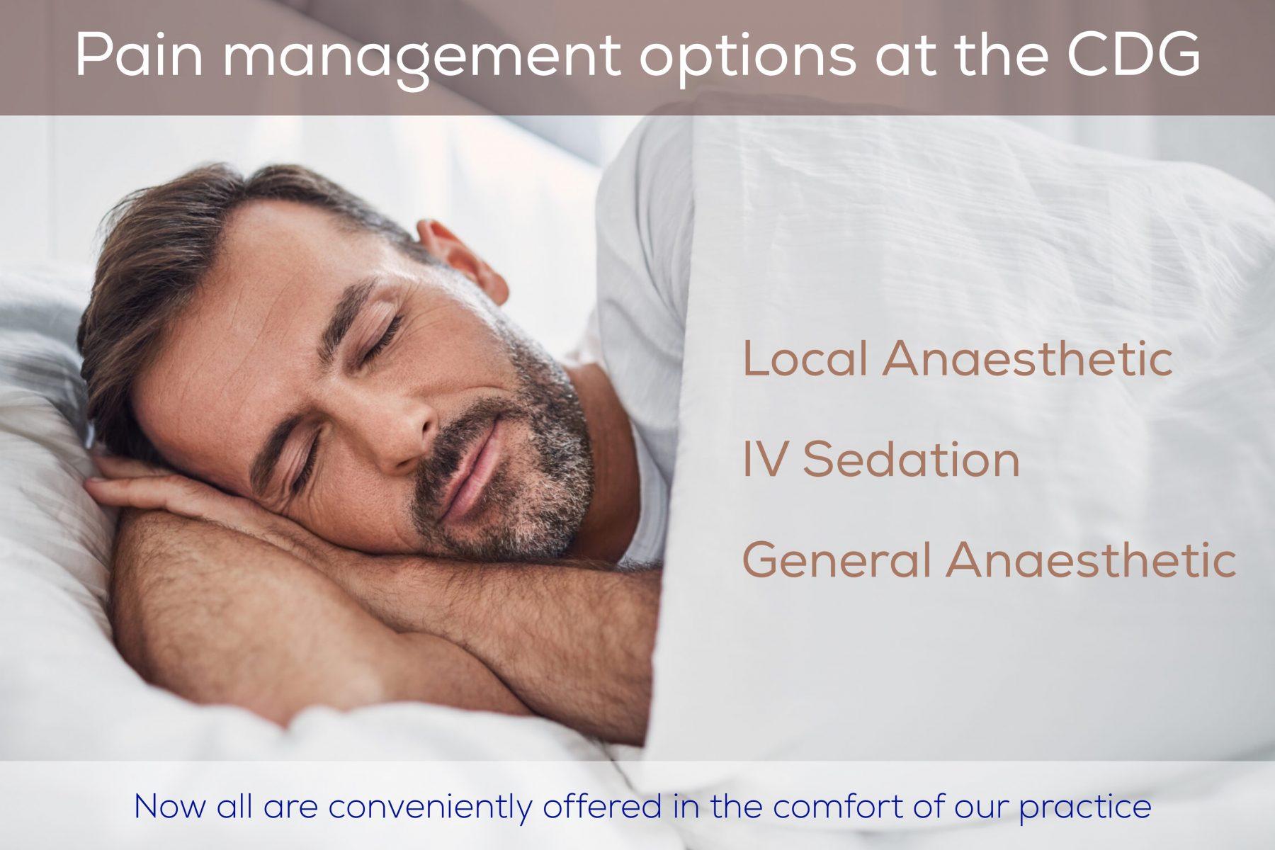 Dental pain management options in Carnegie
